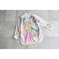 yushokobayashi×tojikomi プルオーバーシャツ