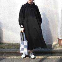 ラスト1☆ritsuko karita slit&volume dress Black