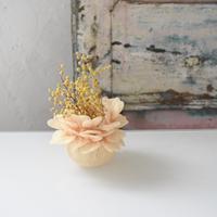 MIONA SHIMIZU 花瓶 花びら黄色 小