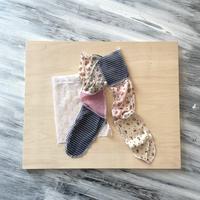 yushokobayashi  long socks with bag