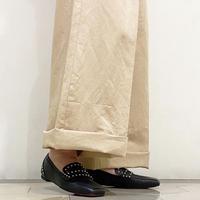 スタッズローファーシューズ / Studs Loafers Shoes L0206 (BLACK)