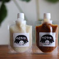 (10/31AM受取)忙しくてもきちんと食べたい人の生塩麹と生醤油麹(お料理レシピ5つ付き)