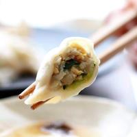 冷やし発酵水餃子(ミニ仏跳醤付き)