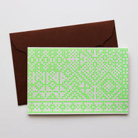 "Greeting Card ""Sashiko / 刺し子"""