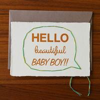 Hello Baby Boy 出産祝い 男の子