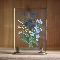 紙の花屋asanochiaki「青い花のブーケ」