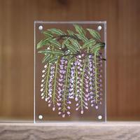 紙の花屋asanochiaki「藤の花」