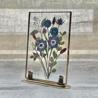 紙の花屋 asanochiaki「青いアネモネの花束」