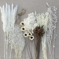 おまかせ花材セット ホワイトベージュブラウン