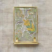 紙の花屋 asanochiaki「ミモザと小花」