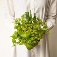 食べられるハーブの花束