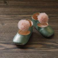 shoes album 1 ストラップタイプ グリーン