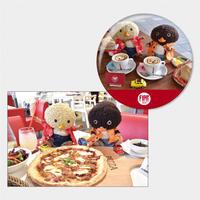 【東京トガリ× FIAT CAFFÉ SHOTOコラボ商品 】かざれる!グランデ・カンバジ&ポストカードセット