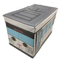 座れる収納BOX(幸福の招き猫電車)