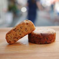 ゴマとカカオニブのクッキー