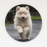 三本線ステッカー 犬(はしる)