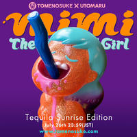 """MIMI The Cannibal Girl"" Tequila Sunrise Edition by Utomaru"