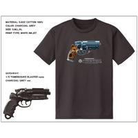 Tomenosuke Blaster T-shirt + nano  (charcoal grey)