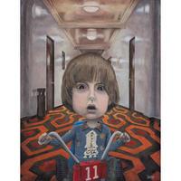 Danny Torrance - The Shining giclee print by dddalina (framed)