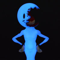 Half a Nice Day : Blue Edition by Alex Pardee