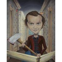Jack Torrance - The Shining giclee print by dddalina (framed)