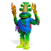 Lorbo - Green by Jim Woodring