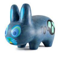 "10"" Scaredy Labbit by Amanda Visell"