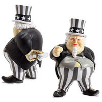 "Uncle Scam Kidrobot Exclusive ""BLACK"" by Ron English"