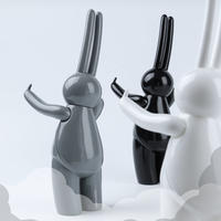 mr clement sofubi sculpture / a vulgar statement: wbg version