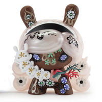 Berry Chocolate Lady 8 inch Dunny by Junko Mizuno