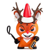 "3"" Rise of Rudolph Holiday Dunny by Kozik"