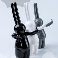 mr clement sofubi sculpture / a vulgar statement: set of wbg version