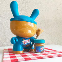 "Sketty Peanut Butter 8"" Custom Dunny by Sket-One (2014)"
