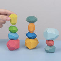 Tumi Ishi Wooden Rock Balancing Toy (11 pieces)