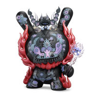 parallel import / La Flamme 8-inch Dunny Black Edition