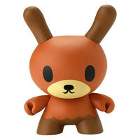 "Little Inky Brown 8"" Dunny by David Horvath"