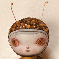 Honey Bee Calliope by Kathie Olivas