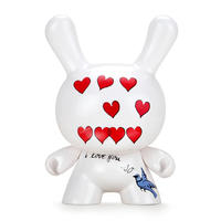 "parallel import / Andy Warhol 8"" Masterpiece ""I Love You So"" Dunny"
