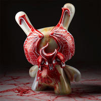 "parallel import / Blood Milk Demon 5"" Dunny by Jon-Paul Kaiser"