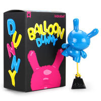 """8"""" Balloon Dunny by Wendigo Toys - Cyan"""