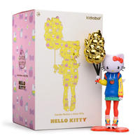 "parallel import / Hello Kitty 9"" Art Figure by Candie Bolton"