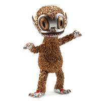 parallel import: Metallic Ahwroo by Gary Baseman - Kidrobot Exclusive