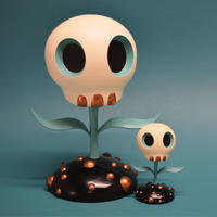 Skull Flower (12-inch) by Tara McPherson