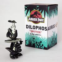 "Jurassic Park Dilophos ""Spitter"" Lava Edition by Joe Ledbetter"