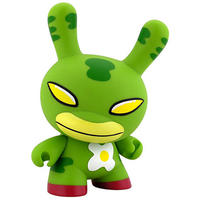 "Eggdrop - Green 8"" Dunny by David Horvath"