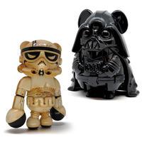 Dark Kayder and Storm Panda Sand Edition by Bee Wong