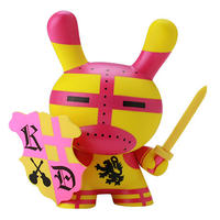 "Hard Days Knight 8"" Dunny by Cycle"