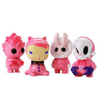 Pocket Sideshow pink edition painted set