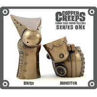 Copper Creeps Series 1 - Monster and Bride  by Doktor A