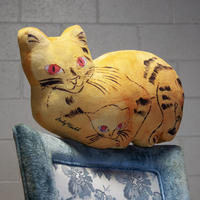 Andy Warhol Yellow Sam the Cat Plush